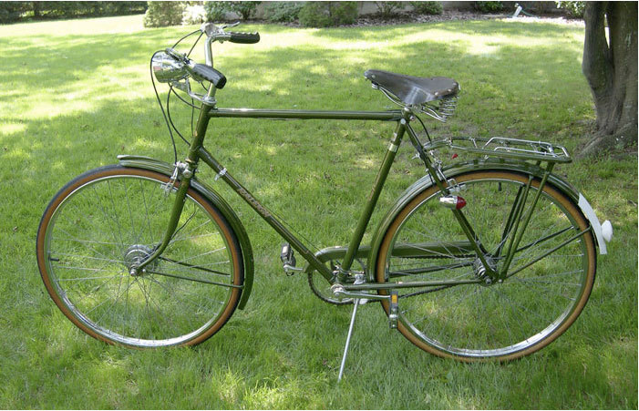Magnificent Vintage raleigh for sale think