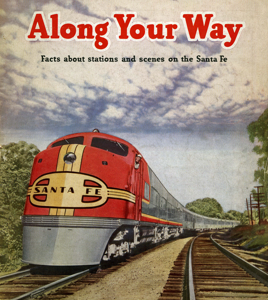 Santa_Fe_-_Along_Your_Way_cover,_1945