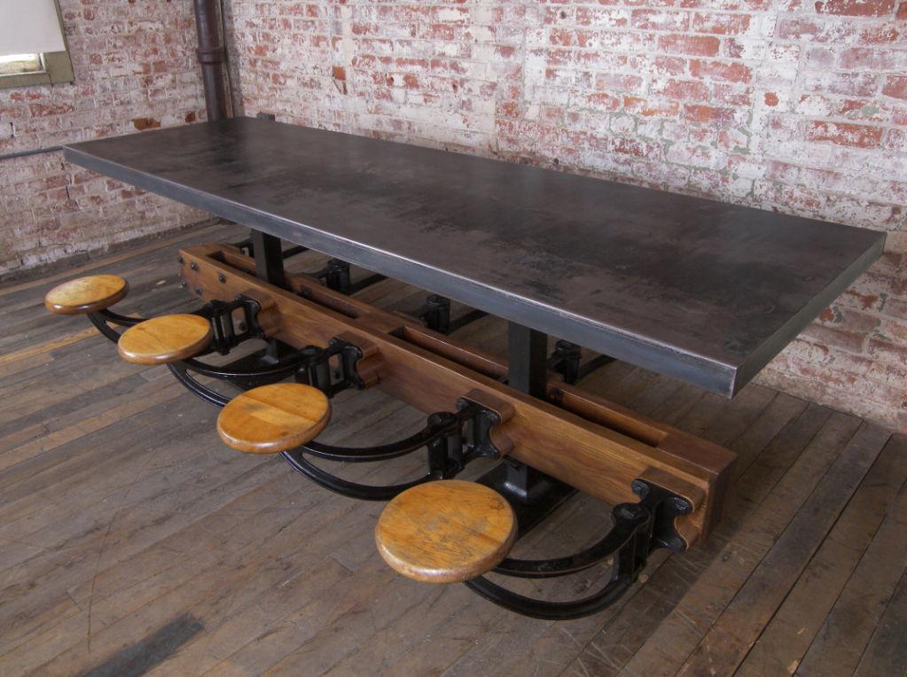 Wants Desires Metal Top Table A