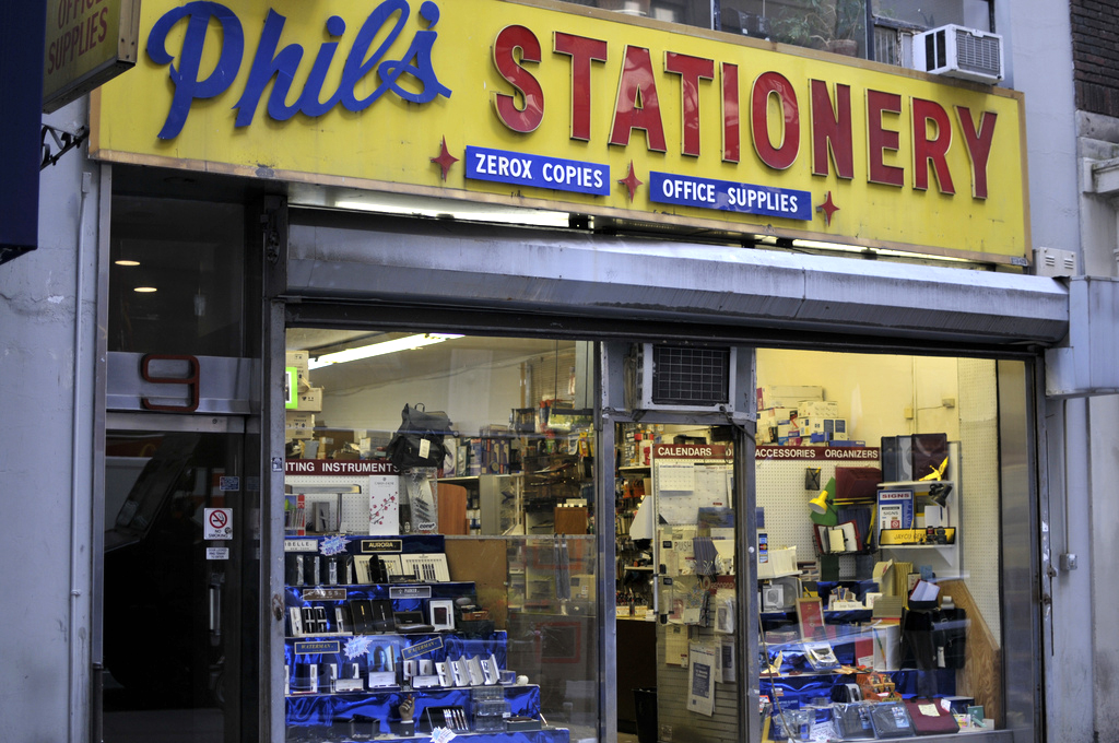 Phils Stationery Vintage Office Supplies