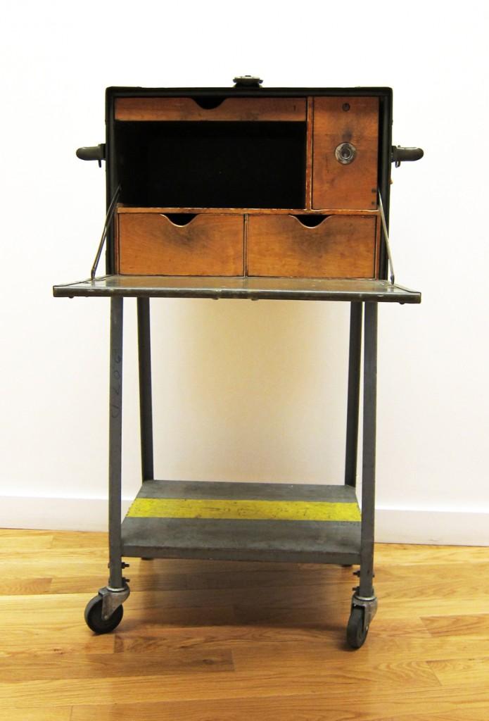 Edit1on Vintage U S Army Field Desk