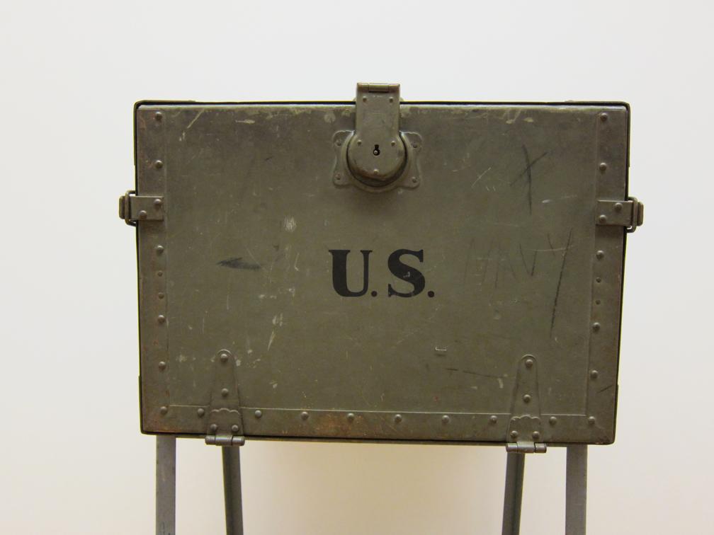 Vintage U S Army Field Desk