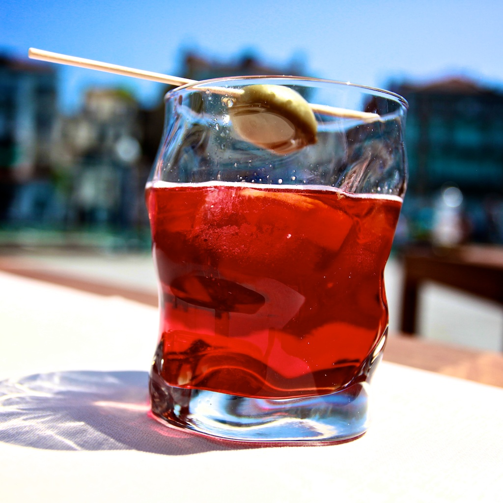 The classic Negroni as enjoyed yesterday in Venezia.