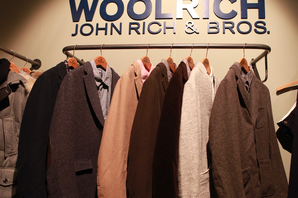 woolrich john rich bros aw12 at pitti uomo a. Black Bedroom Furniture Sets. Home Design Ideas