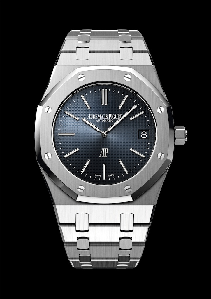 Audemars piguet royal oak an icon at forty a continuous lean for Audemars watches