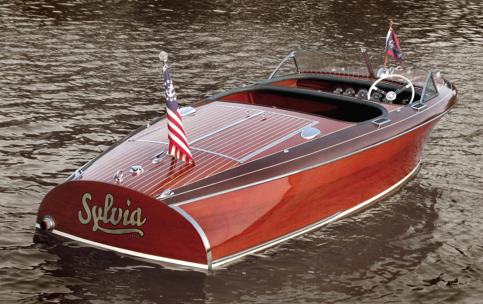 Antique Chris Craft Speed Boats