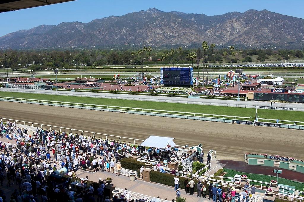 As It Happened Santa Anita Derby A Continuous Lean