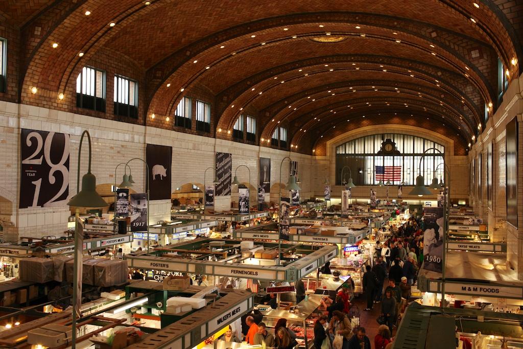 Best Food At West Side Market Cleveland