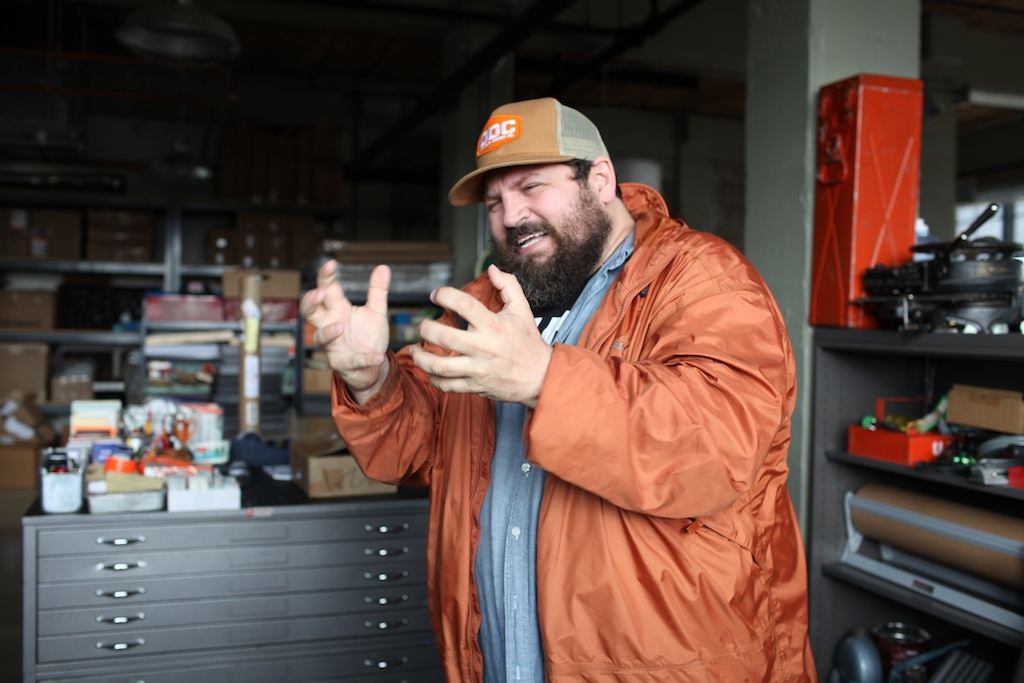 at work with aaron draplin a continuous lean. Black Bedroom Furniture Sets. Home Design Ideas