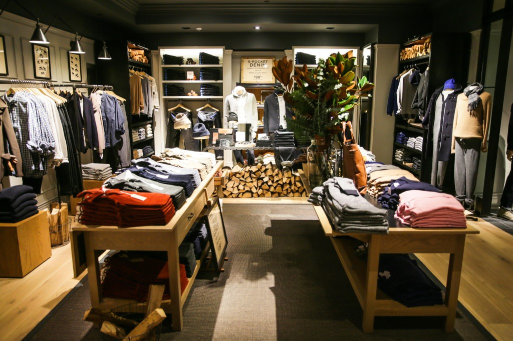 club monaco s new flatiron flagship a continuous lean