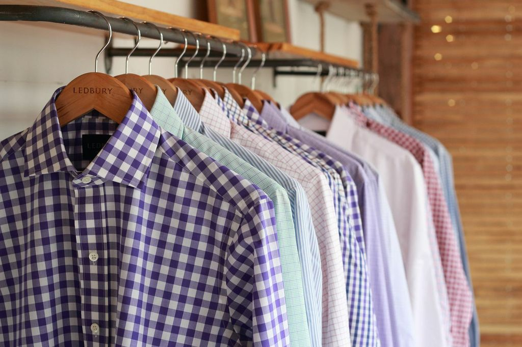 Ledbury Shirts on a Rack