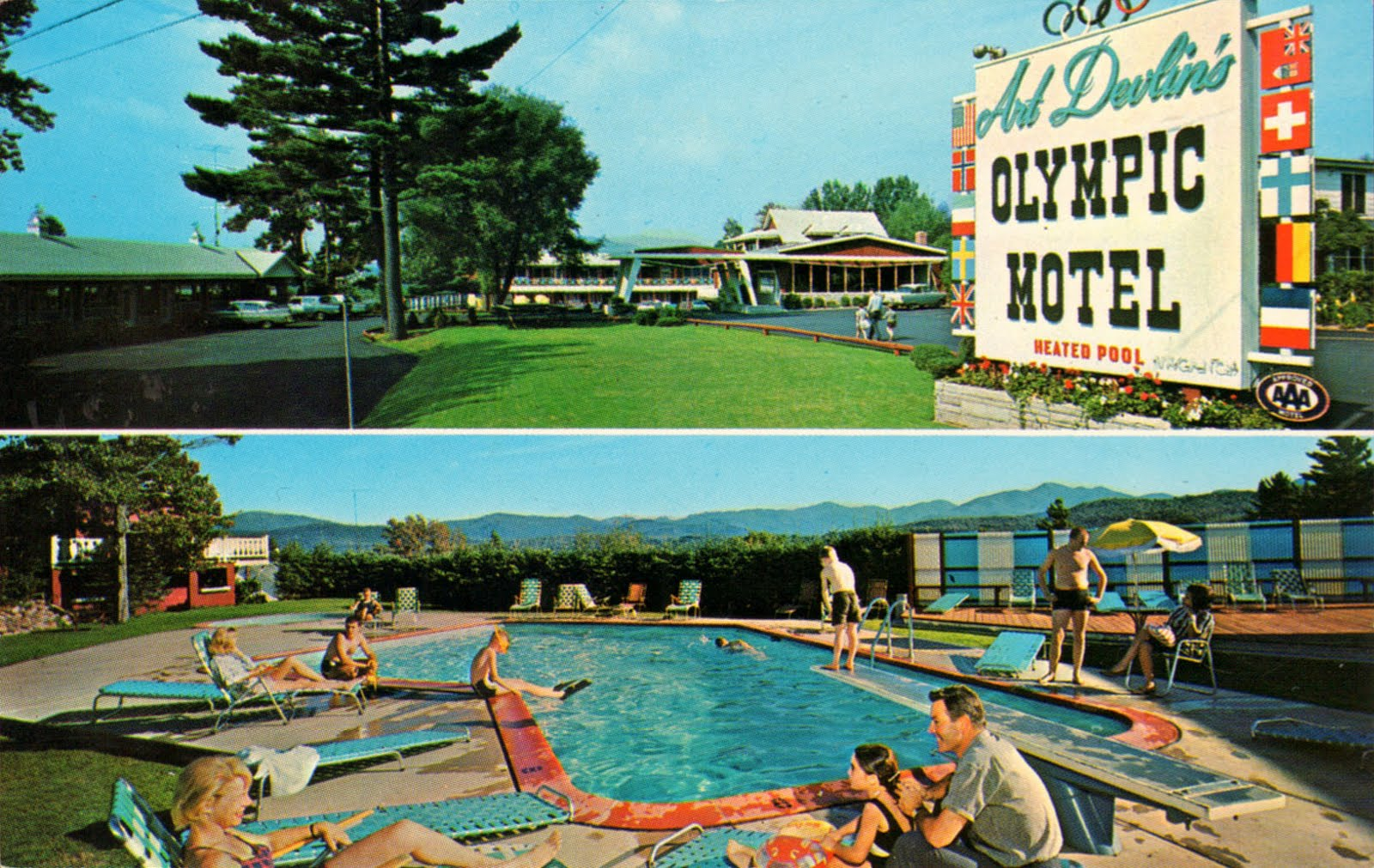America s forgotten vacation destinations a continuous for Long lake motor inn