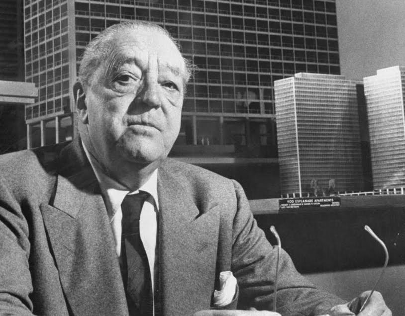 a lesson on structure from ludwig mies van der rohe a. Black Bedroom Furniture Sets. Home Design Ideas